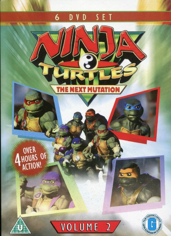 NINJA MUTANT TURTLES ~ NEXT MUTATION VOL 2 SIX DVD SET NEW/SEALED